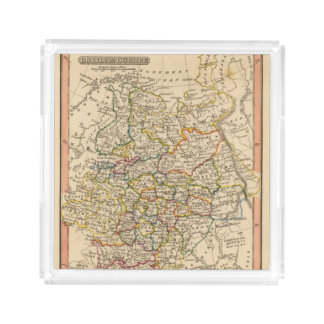 Russia in Europe Acrylic Tray