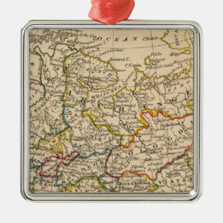 Russia in Europe Christmas Ornament