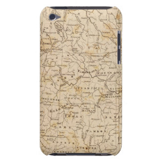 Russia in Europe Map by Arrowsmith iPod Case-Mate Cases
