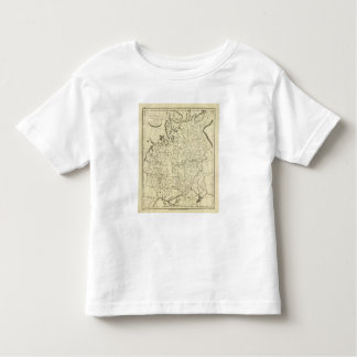 Russia in Europe outline Toddler T-Shirt