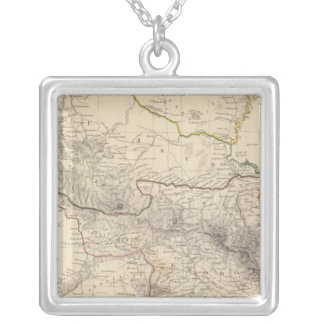 Russia in Europe Part IX and Georgia Silver Plated Necklace