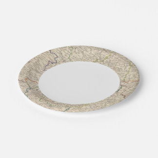 Russia in Europe Part VI 7 Inch Paper Plate