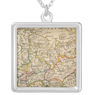 Russia in Europe Silver Plated Necklace