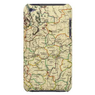 Russia in Europe with boundaries outlined iPod Touch Covers