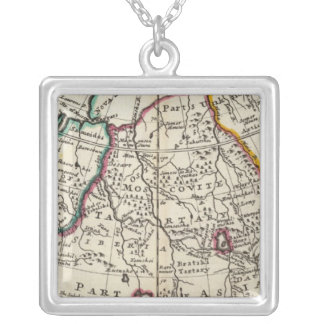 Russia, Kazakhstan, Asia Silver Plated Necklace