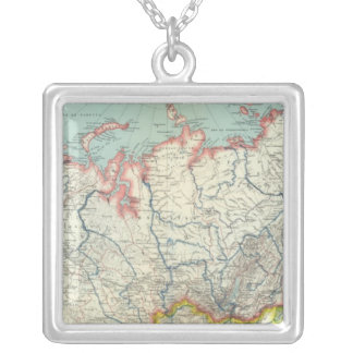 Russia, Korea and Asia Silver Plated Necklace