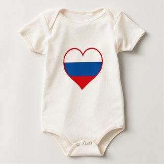 Russia Love Baby Bodysuit