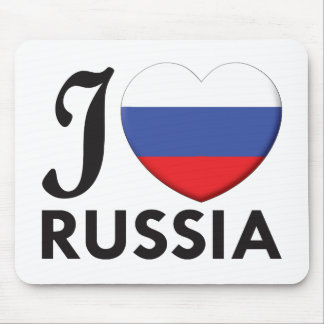 Russia Love Mouse Mat
