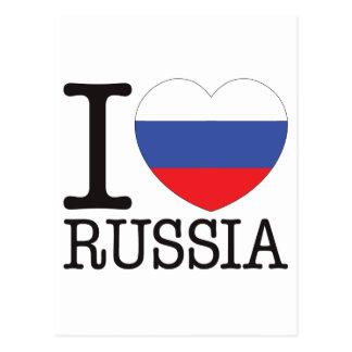 Russia Love v2 Postcard