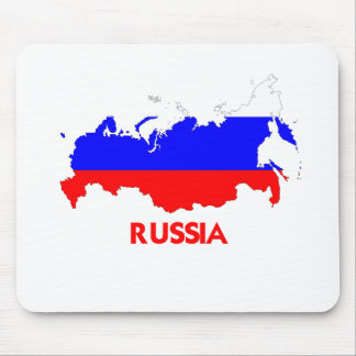 RUSSIA MAP MOUSE PAD