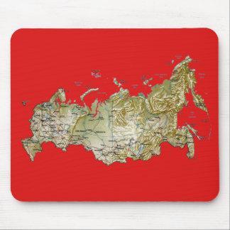 Russia Map Mousepad