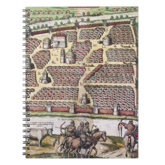 RUSSIA: MOSCOW, 1591 SPIRAL NOTEBOOKS