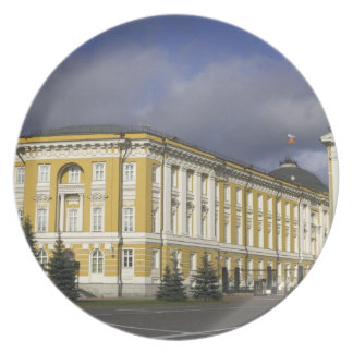 Russia, Moscow, Kremlin, Senate Palace, Dinner Plates