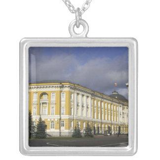 Russia, Moscow, Kremlin, Senate Palace, Square Pendant Necklace