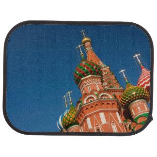 Russia, Moscow, Kremlin, Vasiliy Blessed Car Mat