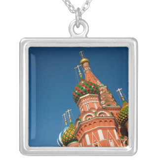Russia, Moscow, Kremlin, Vasiliy Blessed Square Pendant Necklace