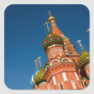 Russia, Moscow, Kremlin, Vasiliy Blessed Square Sticker