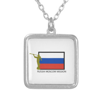 RUSSIA MOSCOW MISSION LDS CTR CUSTOM NECKLACE