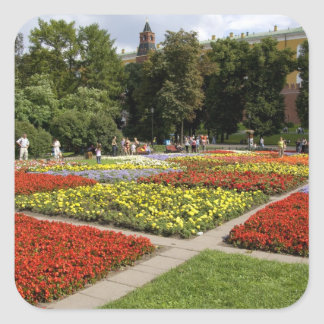 Russia, Moscow, Red Square, Alexandrovsky Square Sticker