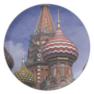 Russia, Moscow, Red Square. famous onions of St. Plate