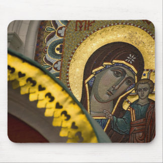 Russia, Moscow, Red Square. Our Lady of Kazan Mouse Pad