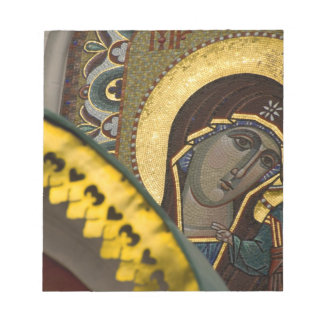 Russia, Moscow, Red Square. Our Lady of Kazan Notepad