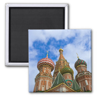 Russia Moscow Red Square St Basil s Refrigerator Magnet