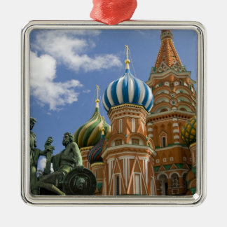 Russia, Moscow, Red Square. St. Basil's 3 Christmas Ornament