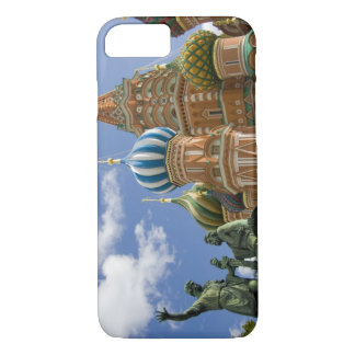 Russia, Moscow, Red Square. St. Basil's 3 iPhone 8/7 Case