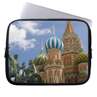 Russia, Moscow, Red Square. St. Basil's 3 Laptop Computer Sleeve