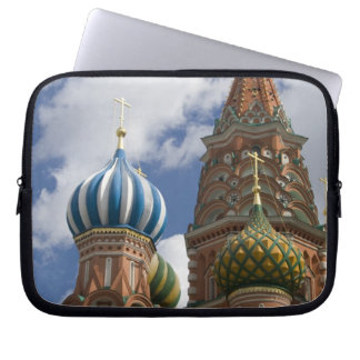 Russia, Moscow, Red Square. St. Basil's 4 Laptop Sleeve