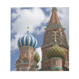 Russia, Moscow, Red Square. St. Basil's 4 Notepad