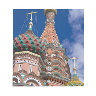 Russia, Moscow, Red Square. St. Basil's 5 Notepad