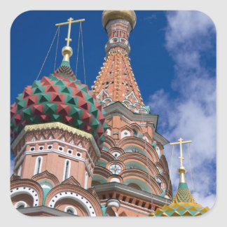 Russia, Moscow, Red Square. St. Basil's 5 Stickers