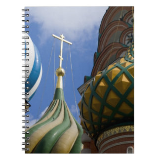 Russia, Moscow, Red Square. St. Basil's Note Book