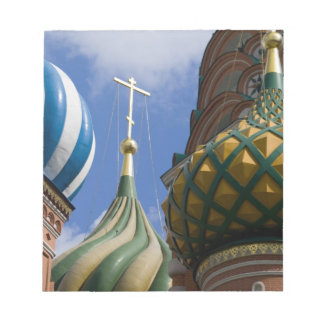 Russia, Moscow, Red Square. St. Basil's Notepad