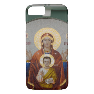 Russia, Moscow, Sparrow Hill, Trinity Church. iPhone 7 Case