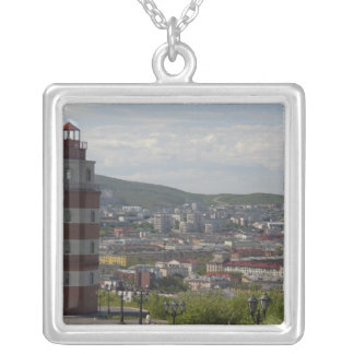 Russia, Murmansk. Largest city north of the Silver Plated Necklace