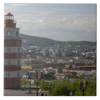 Russia, Murmansk. Largest city north of the Tile