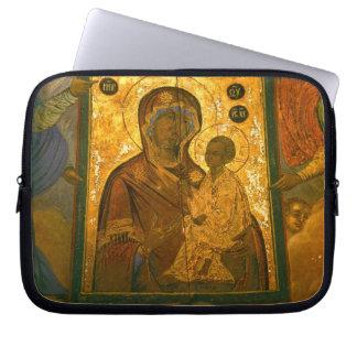 Russia, Novgorod Province, Tikhvin Monastery, Computer Sleeves