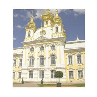 Russia. Petrodvorets. Peterhof Palace. Peter the 2 Notepad