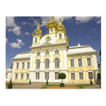 Russia. Petrodvorets. Peterhof Palace. Peter the 2 Postcard