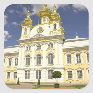 Russia. Petrodvorets. Peterhof Palace. Peter the 2 Square Sticker
