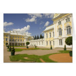 Russia. Petrodvorets. Peterhof Palace. Peter the 3 Greeting Card
