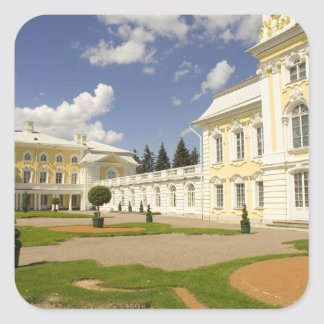 Russia. Petrodvorets. Peterhof Palace. Peter the 3 Square Sticker