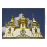 Russia. Petrodvorets. Peterhof Palace. Peter the 4 Greeting Card