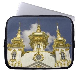 Russia. Petrodvorets. Peterhof Palace. Peter the 4 Laptop Sleeve