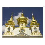 Russia. Petrodvorets. Peterhof Palace. Peter the 4 Postcard