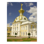 Russia. Petrodvorets. Peterhof Palace. Peter the 5 Postcard