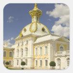 Russia. Petrodvorets. Peterhof Palace. Peter the 5 Square Sticker